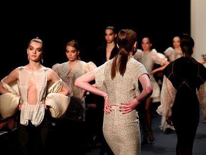 New york fashion week catwalk 11