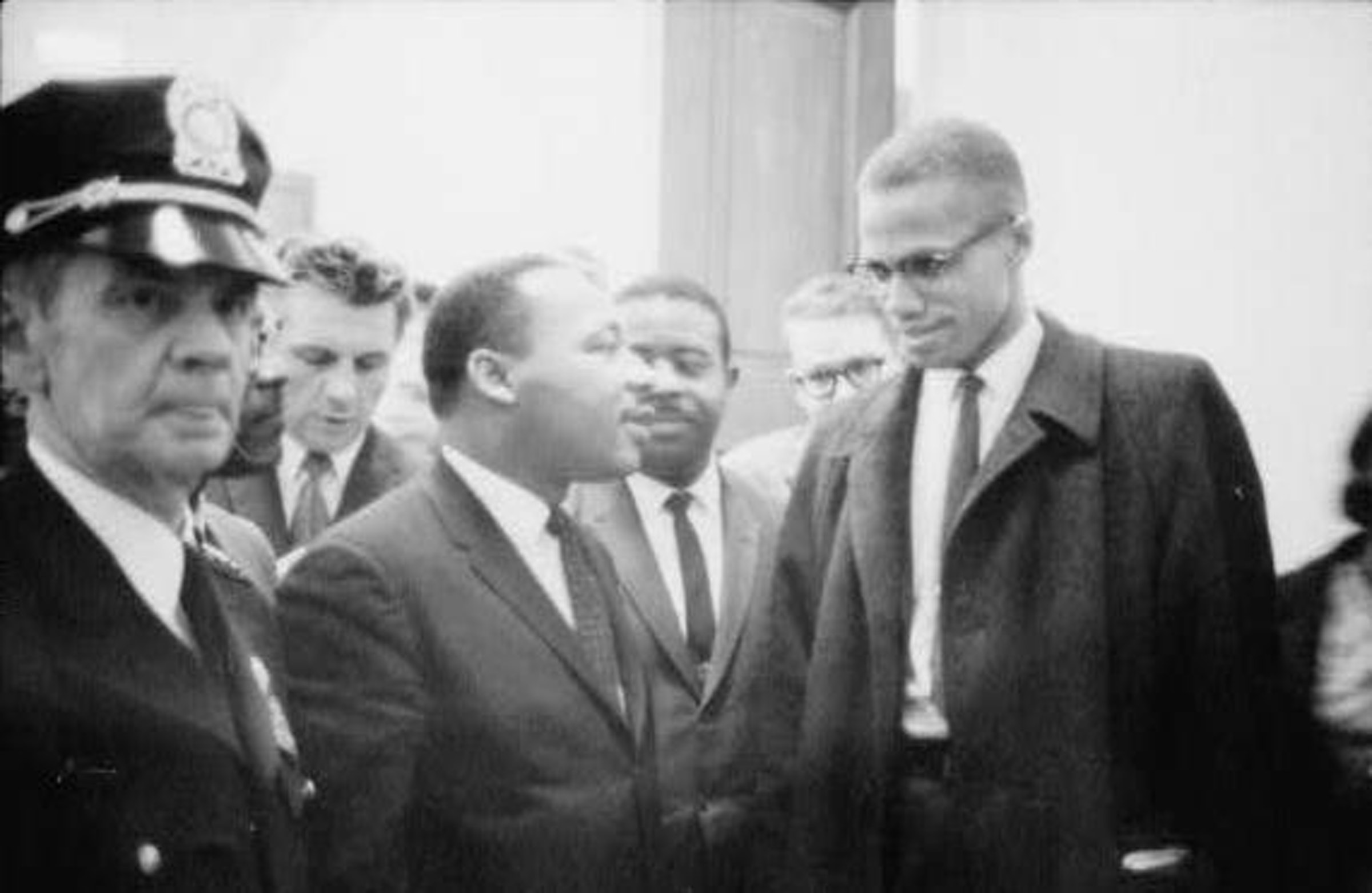 a comparison of malcolm x and martin luther king junior on the topic of american socialism Share the best equality quotes collection with funny  malcolm x freedom martin luther king, jr will, slaves.