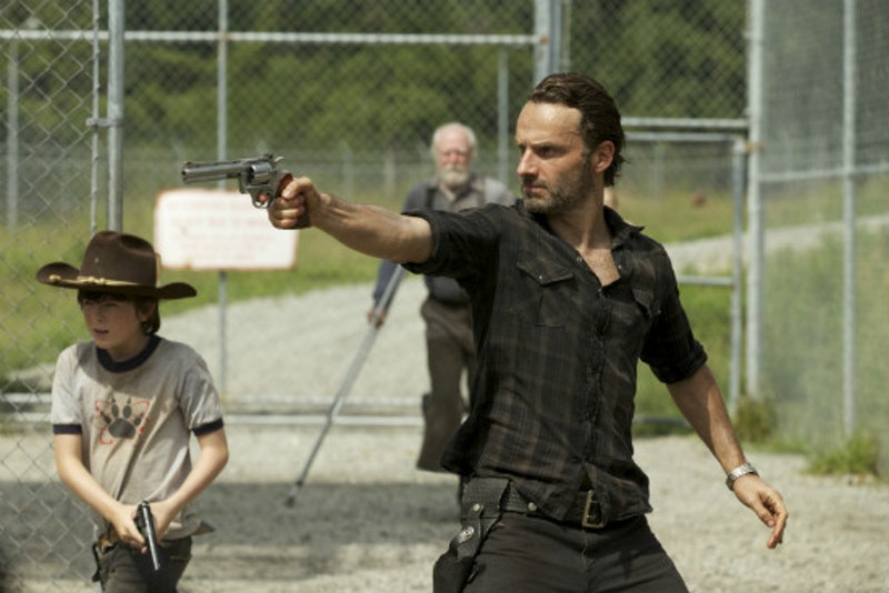 Chandler riggs scott wilson andrew lincoln walking dead when the dead come knocking season 3 amc.jpg?ixlib=rails 2.1