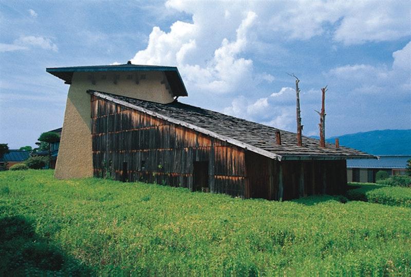 Fujimori terunobu jinchokan moriya historical museum exterior.jpg?ixlib=rails 2.1