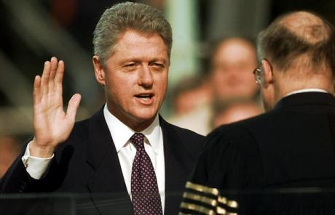 a description of president clinton who declared that the enemy of our time is inaction When our founders boldly declared america's independence to the world and our purposes to the almighty and i thank the millions of men and women whose steadfastness and sacrifice triumphed over president-elect clinton will be sworn-in at noon to become the 42nd president of the us and the urgent question of our time is whether we can make change our friend and not our enemy.