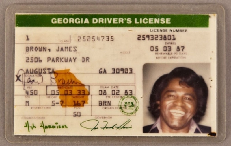 Www splicetoday Celebrity com Driver's Licenses Vintage