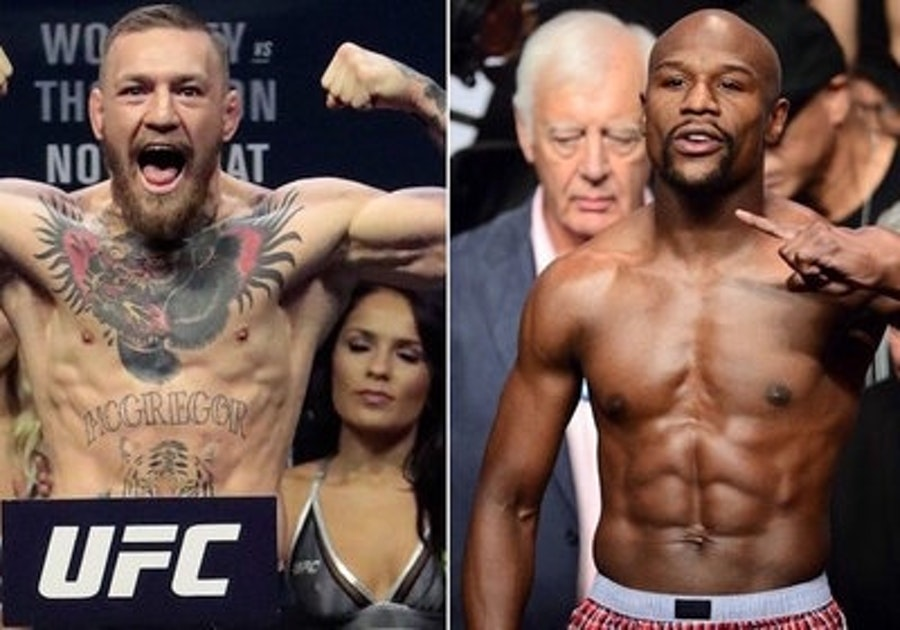 Mayweather vs mcgregor boxing 39 s upcoming farce www for Farcical how to say