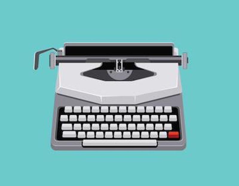 Vector mid century illustration with retro typewriter.jpg?ixlib=rails 2.1