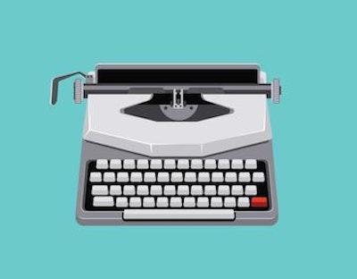 Vector mid century illustration with retro typewriter.jpg?ixlib=rails 2.1
