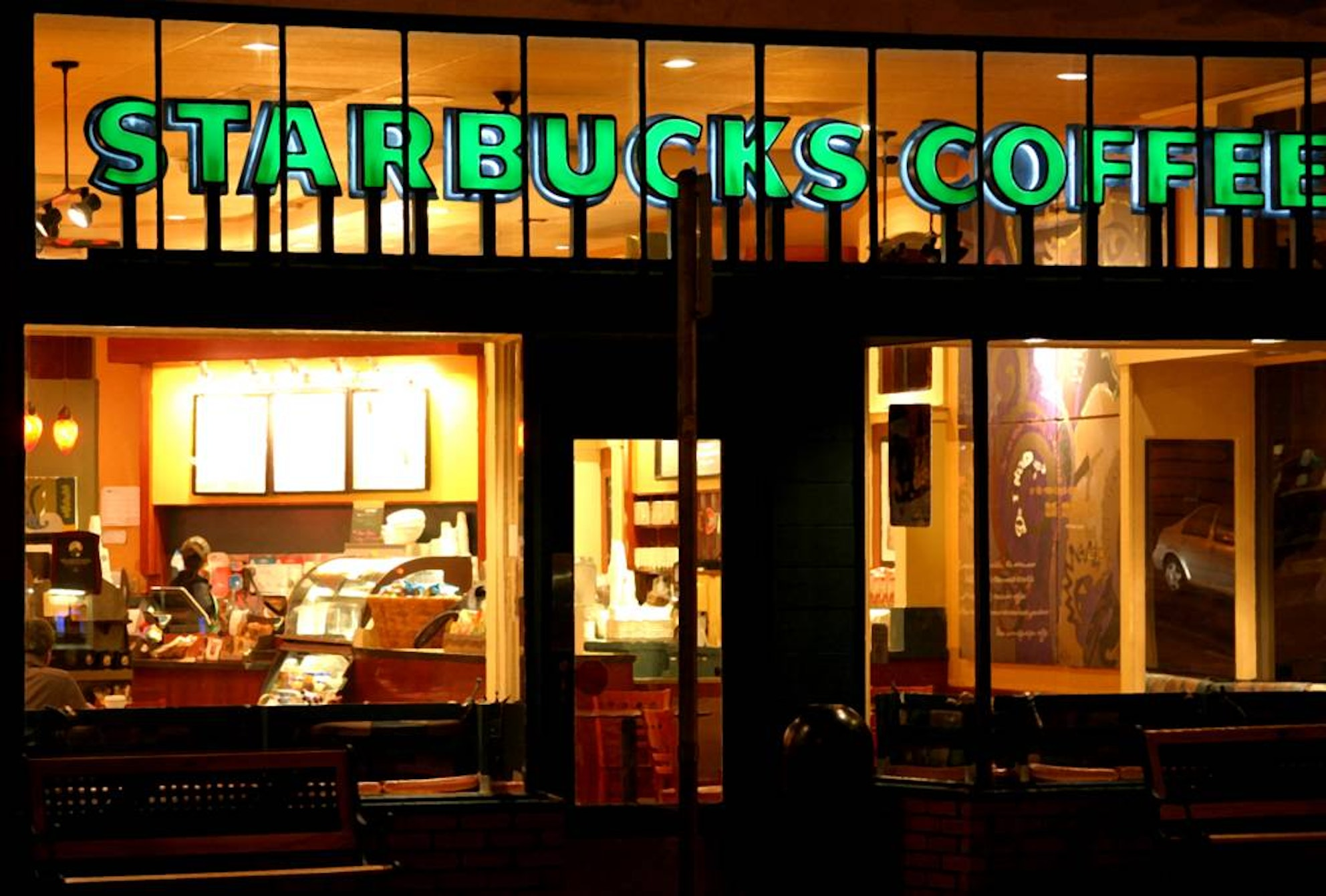 starbucks takes advantage of a new pay method to satisfy customers A former starbucks employee who once worked i could never do anything to satisfy people of all races frequently came into the store to take advantage of.